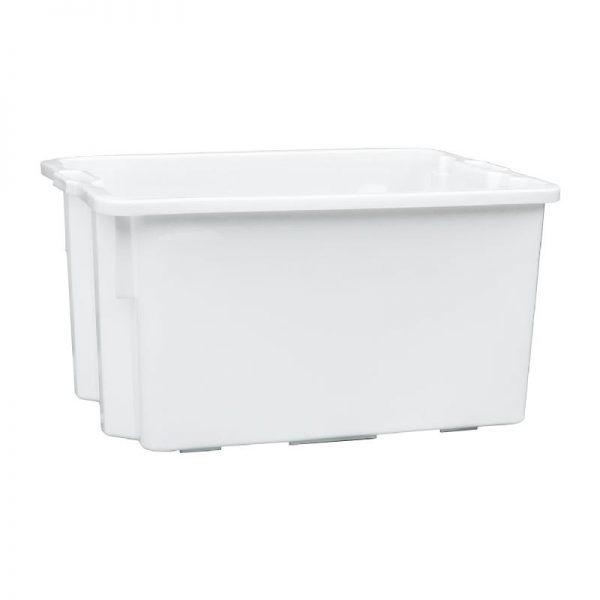 Korito 90L kvadratno bijelo