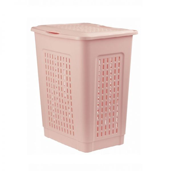 Košara za veš s poklopcem 40L , 38x29xh52 cm