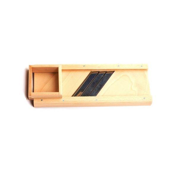 Ribež drveni 60cm s kutijom vzkd