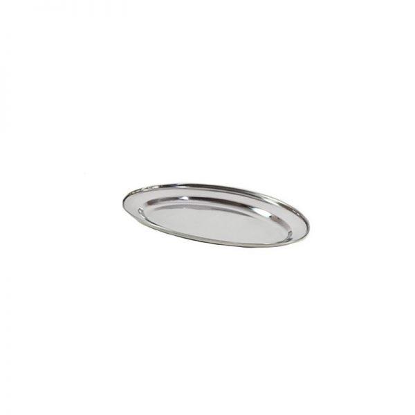 Oval inox 30cm vzkd