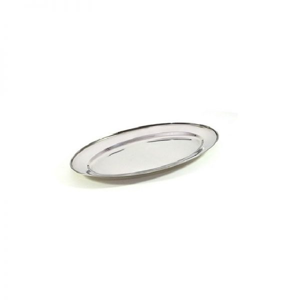 Oval inox 40cm vzkd